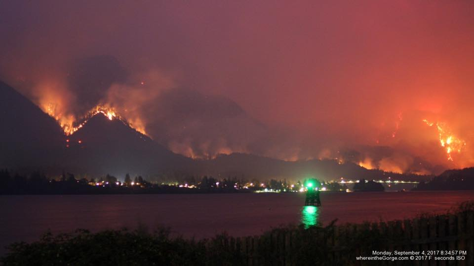 Columbia Gorge Fire